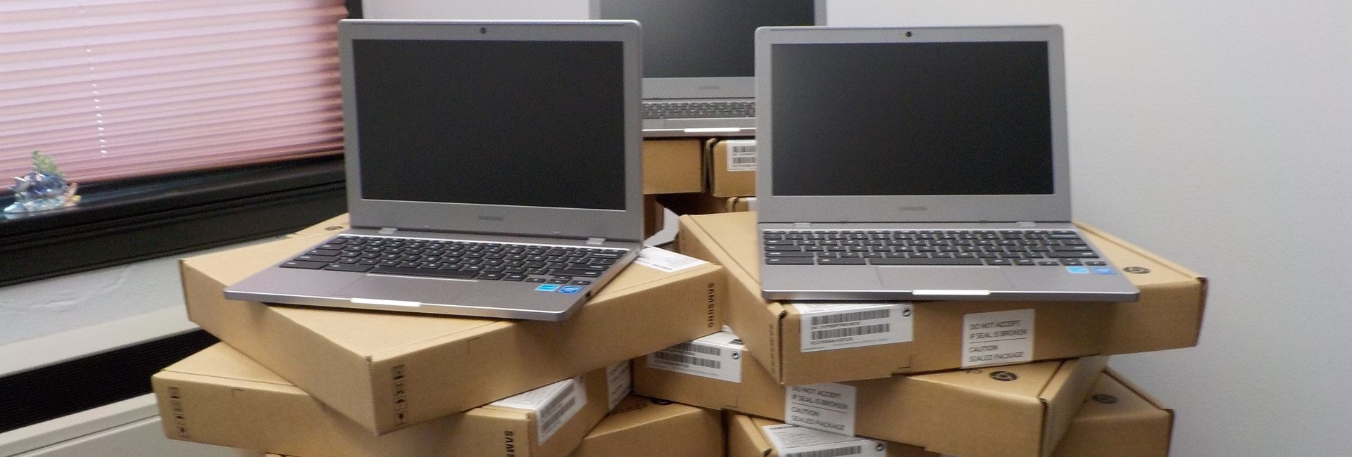 Donated Laptops from World Affairs Council